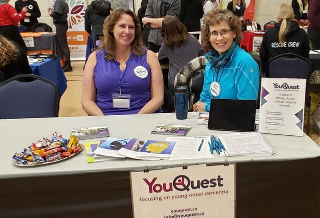 Volunteer young onset dementia Canada